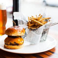 You can't beat burger and beer