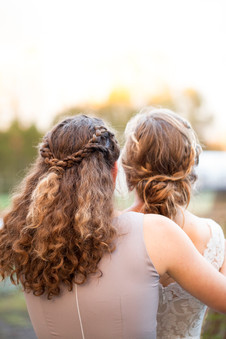 Sisters before the Wedding