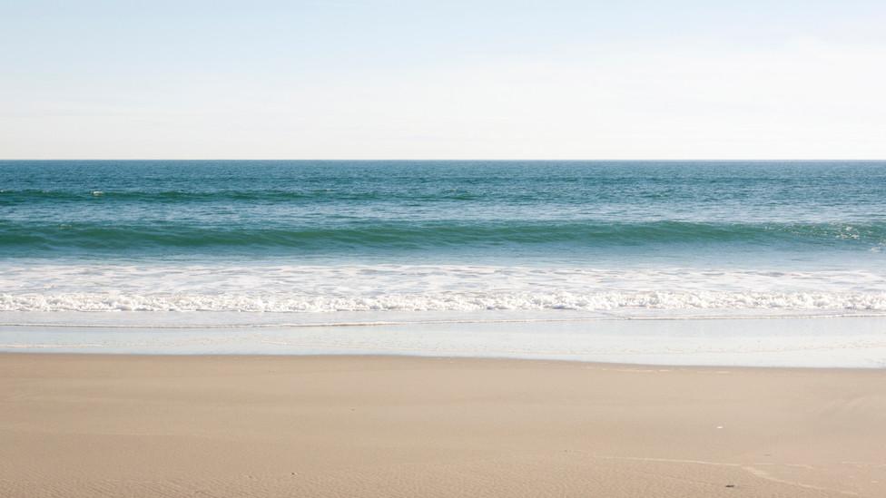 Sky, sea, and sand at Emerald Isle, North Carolia