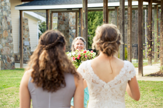 Mother and Daughters before wedding