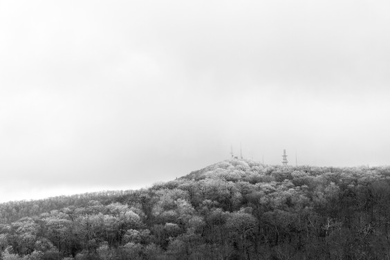 Snow in the Tennessee Mountains
