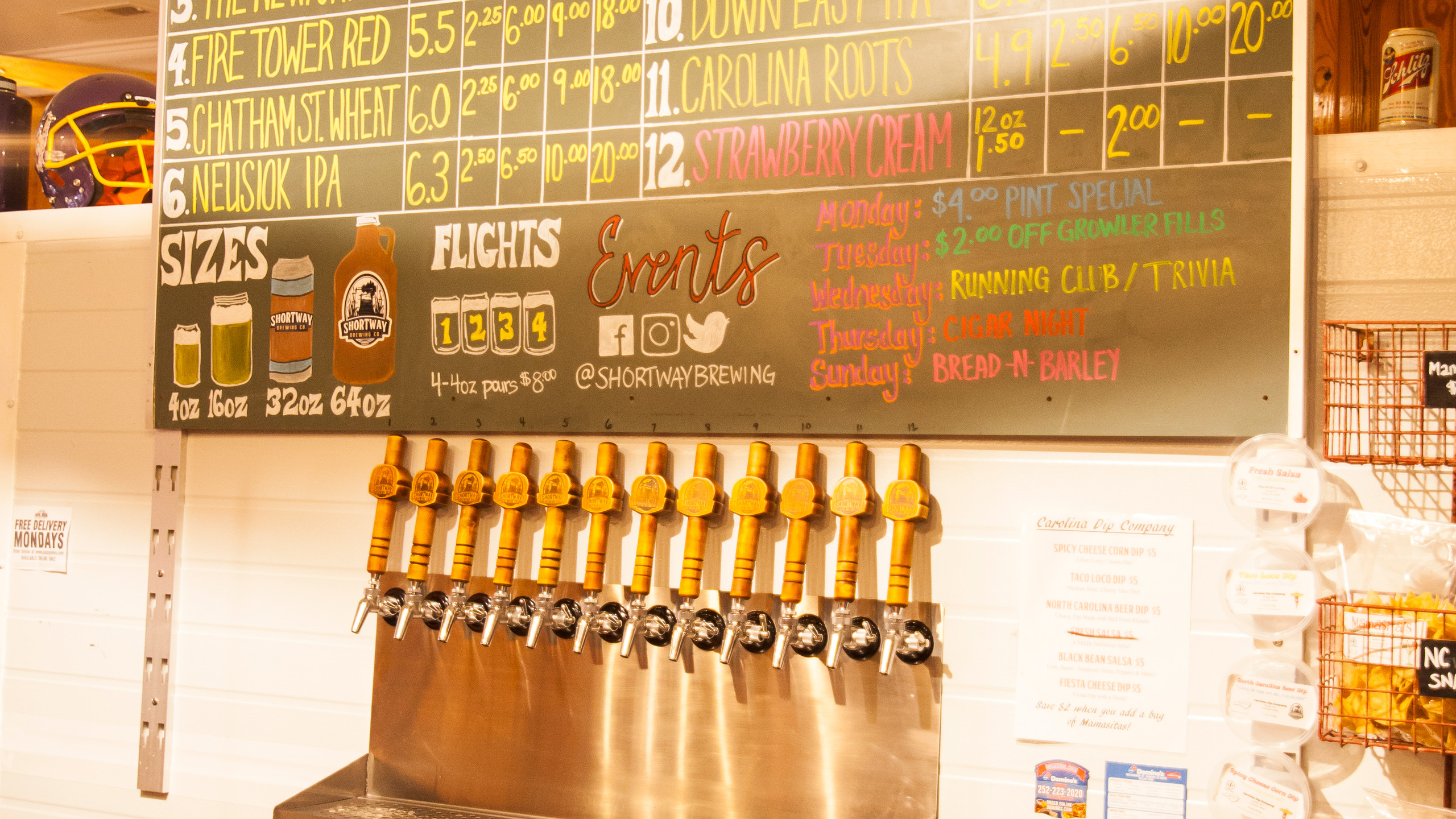 Chalkboards and Tap Handles