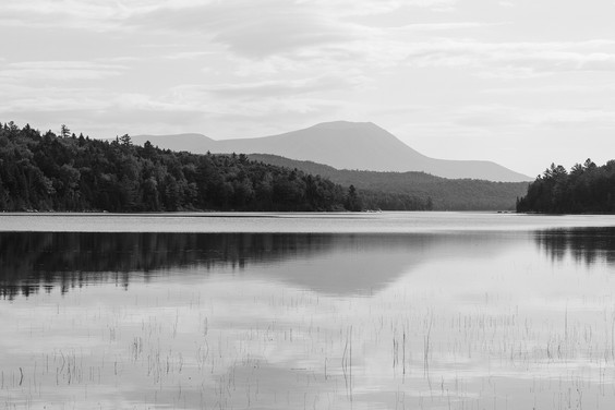 A First View of Katahdin