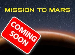 Mission to Mars escape room game