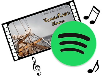 Escape room Filmstrip spotify