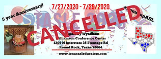 CANCELLED - Save the Date TASLE 2020 wit