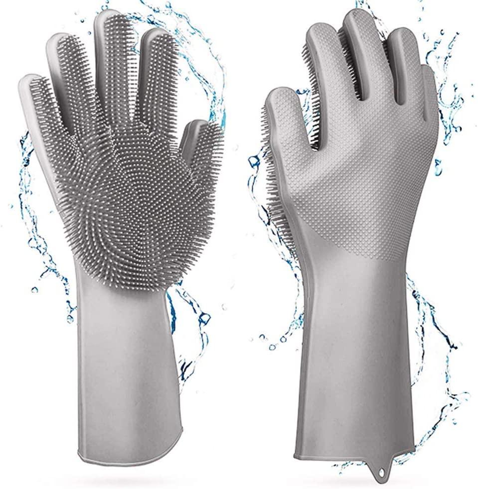 magic sad silicone washing up gloves