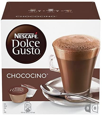 Nescafe dolce gusto coffee pods hot chocolate