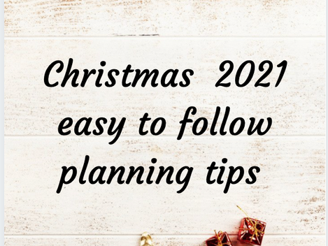 Is it too early to be planning Christmas?