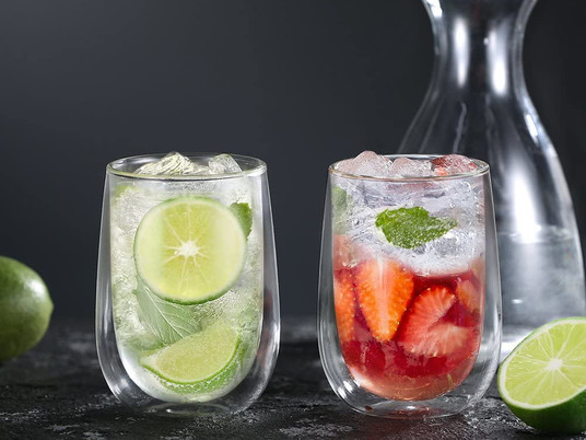 Double-walled glasses are they just a fad?