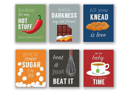 Top 10: Quirky Kitchen Quote Art