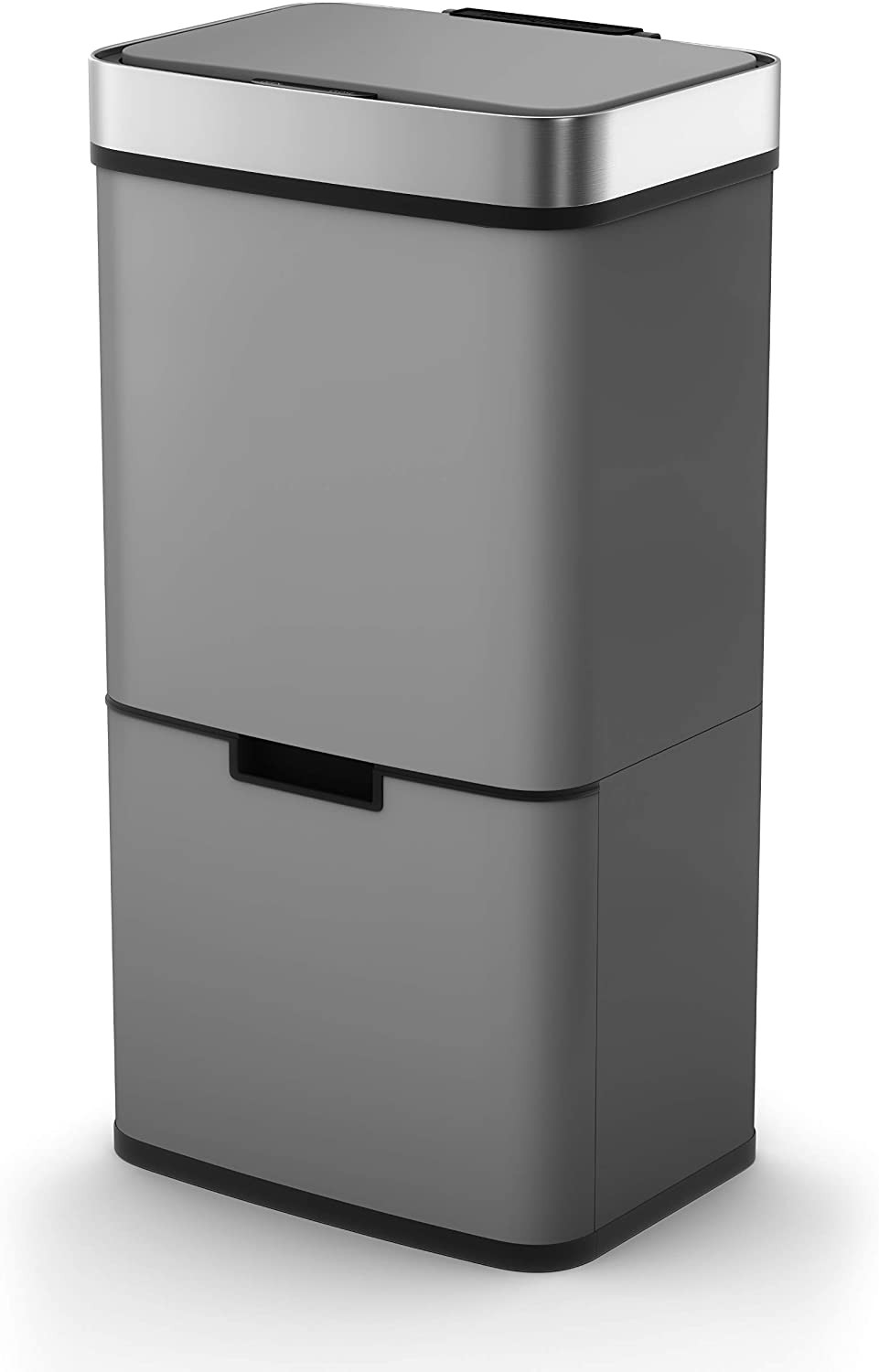Morphy Richards Kitchen Bin, square which has compartments, 75L, great for recycling