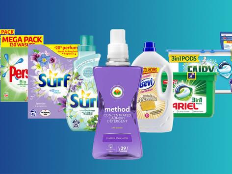 Powder vs Liquid vs Capsule Detergents. Top 10 Best Smelling!