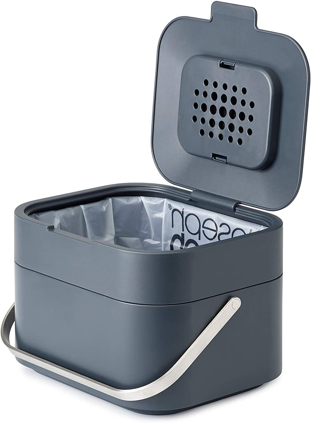 Joseph Joseph food waste caddy with odour filter