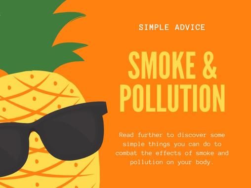 Smoke and pollution