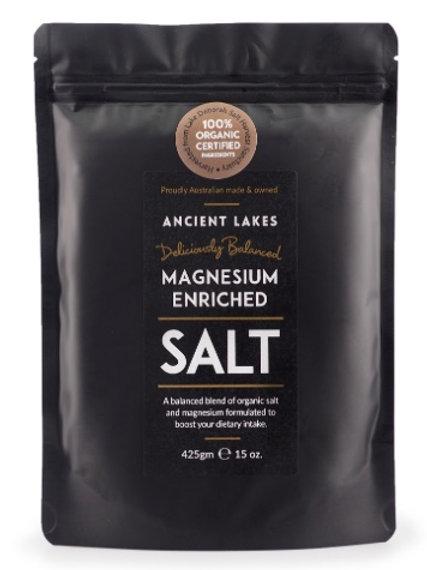 Magnesium enriched salt