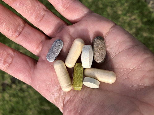 Supplement packs for stress and immune support