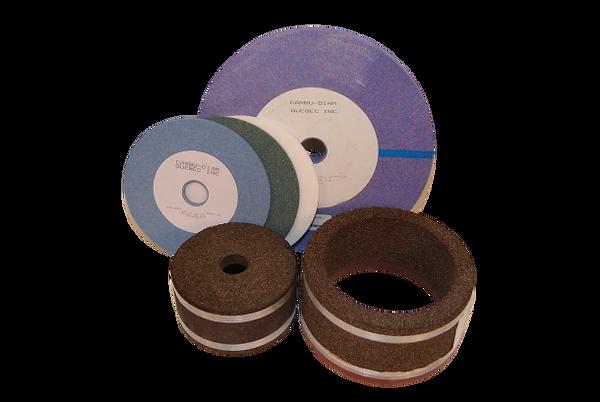 Meules abrasives, silicone carbide, aluminium oxyde, céramique