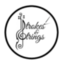 Strokes and Strings Logo