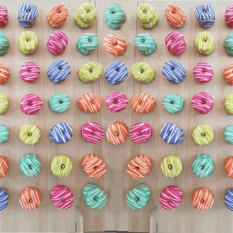 Painel Donuts: doces que decoração com sabor e sofisticação