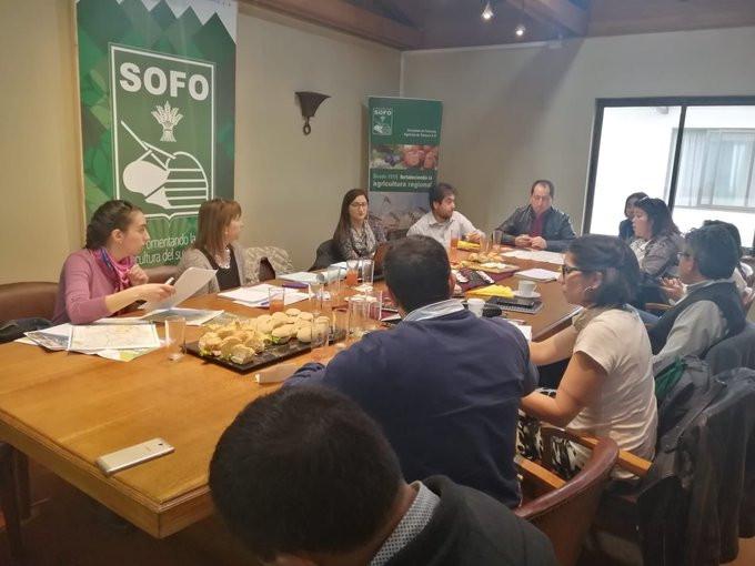 Se reúne Comité de Gestor de Productos del PER Nahuelbuta Costa Araucanía