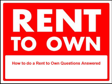 Rent to Own. 6 reasons you need to read this.