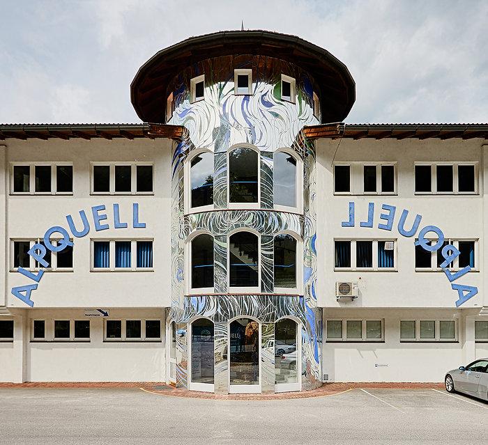 Firmengebäude Alpquell in Münster / Tirol