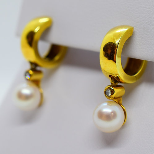 Glamour Pearl Earrings