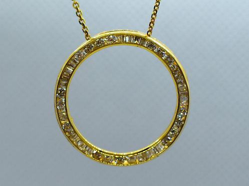 Multiple Stone Diamond Pendant
