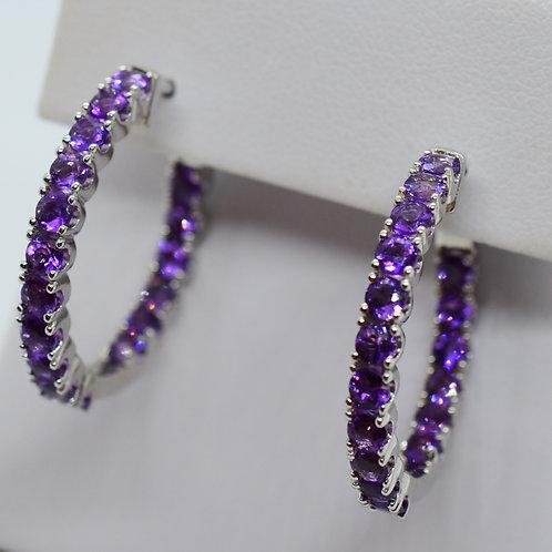 Amy Hoop Earrings