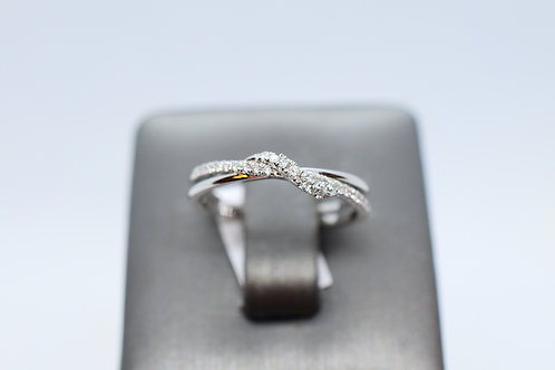 Knotted Love Ring