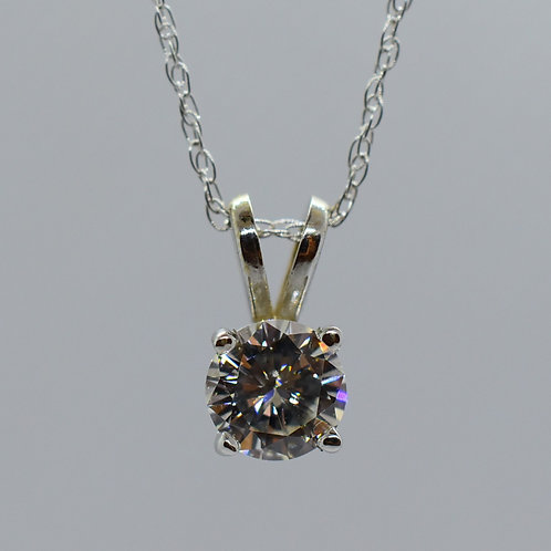 Basket Diamond Pendant