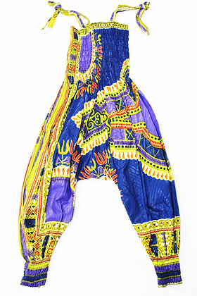 1-2 Year African Print Romper