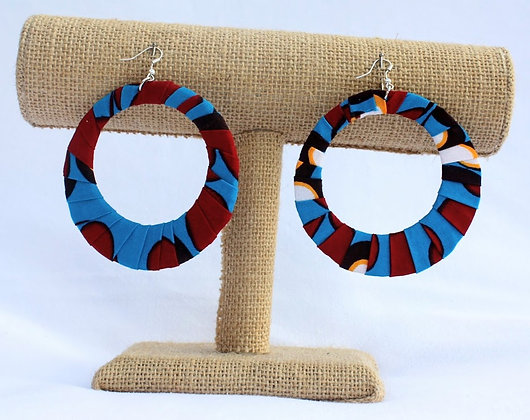 African Earrings Set