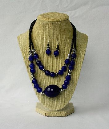 Jekk necklace and earring set