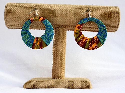 African Earrings Set