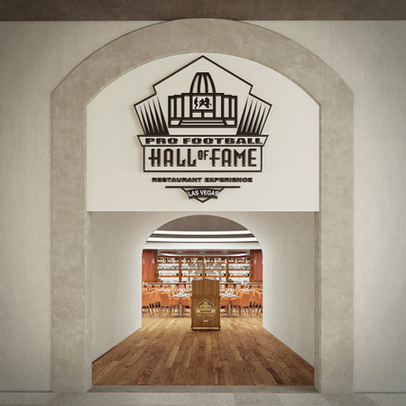 Pro Football Hall of Fame Restaurant Experience, Las Vegas