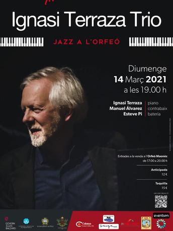 Jazz a L'Orfeo amb Ignasi Terraza