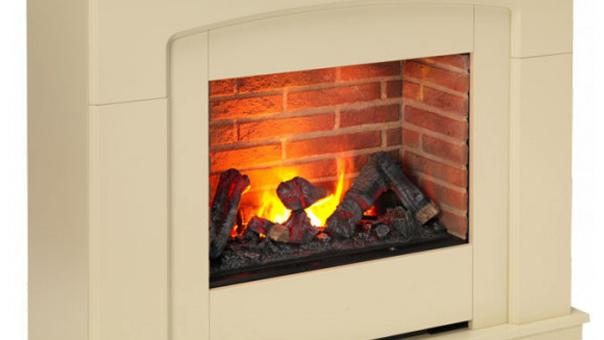 Dimplex Alameda Opti-Myst Electric Fireplace Suite