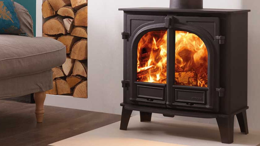 Stockton 5 Wide Wood Burning Stove