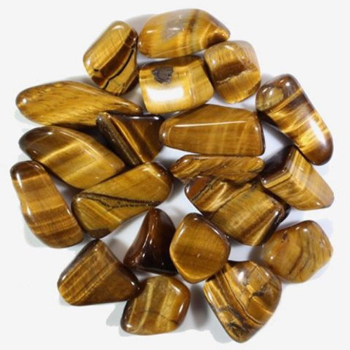 Tigers Eye Gold Approximately 1 ¼""