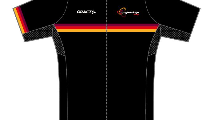 Cyclingshirt Unisex AZ Groeninge