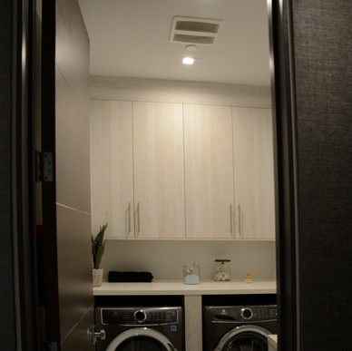 Jaide Pino cabinetry doors highlighted by subtle wood grain
