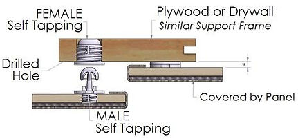 Specialty Hardware Fastners