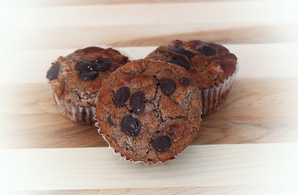 CHOCOLATE APPLE MUFFIN (4 MUFFINS)