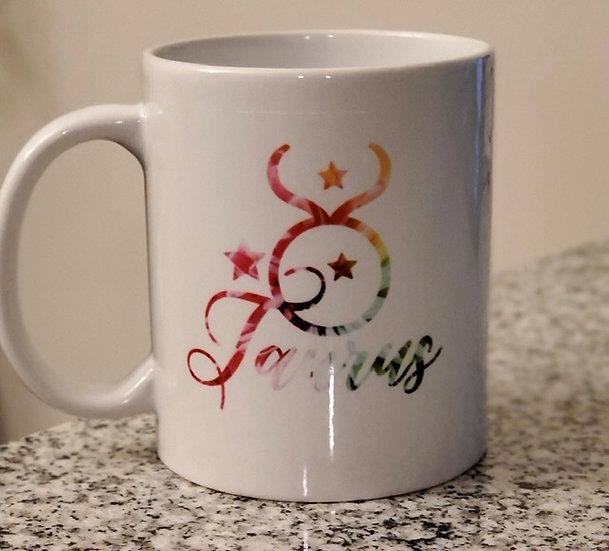 Personalized Zodiac Sign Mug (Sublimated)
