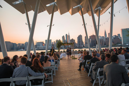 LIC waterfront wedding   Calen Rose Photography