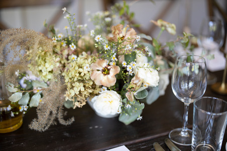 heart and soil flowers Bedford Post Inn Wedding | Calen Rose Photography | Upstate New York