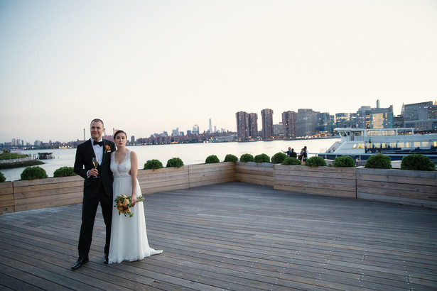 LIC waterfront wedding | Calen Rose Photography