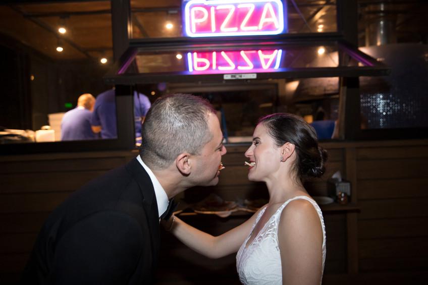 Late Night Pizza Ramona Greenpoint | Brooklyn Wedding